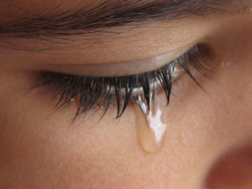 Tears are one of the most beautiful things in the world