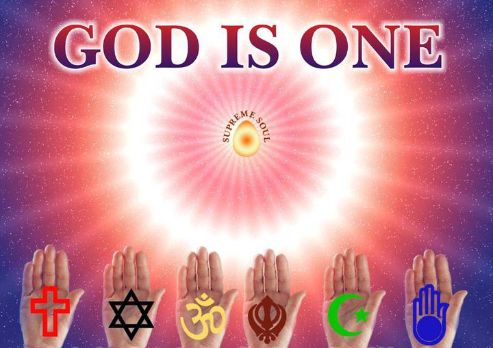 God is one, but we have different ways to approach the ultimate source/God! Peace, Love & Respect among all people ~ GC Himani