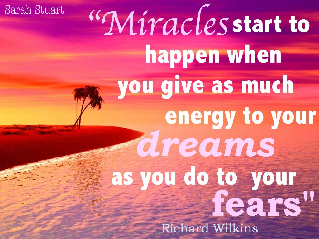Miracles quotes and sayings blog